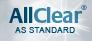 AllClear® as standard
