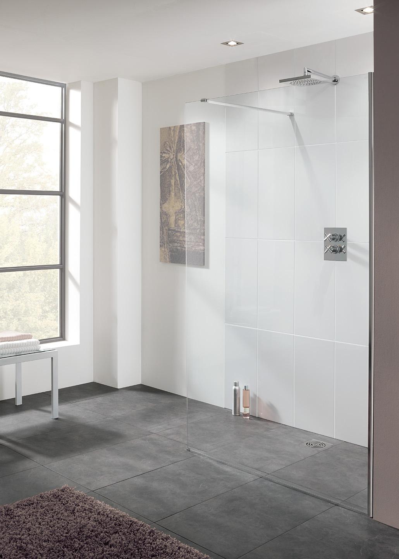 Cannes 10mm - Frameless Walk-In Shower Enclosures