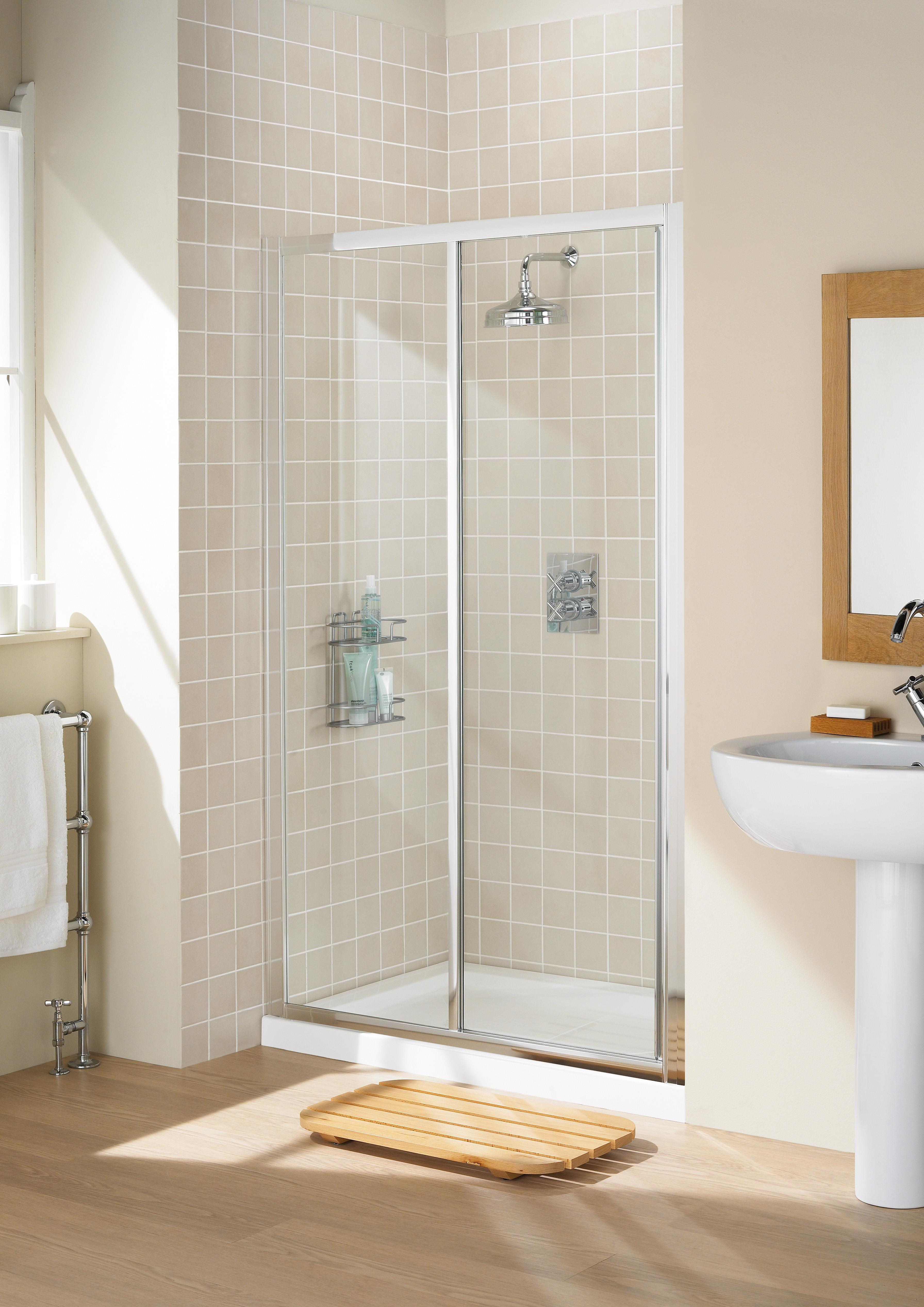 Framed Slider Door Fully Framed Shower Enclosures
