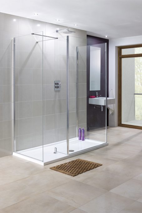 Flat Wall Shower Enclosures Image