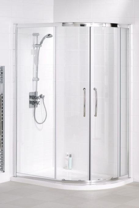 Easy fit quadrant shower enclosure