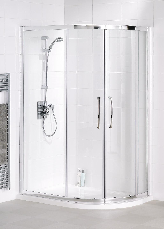 Easy Fit Quadrant Semi Frameless Shower Enclosures