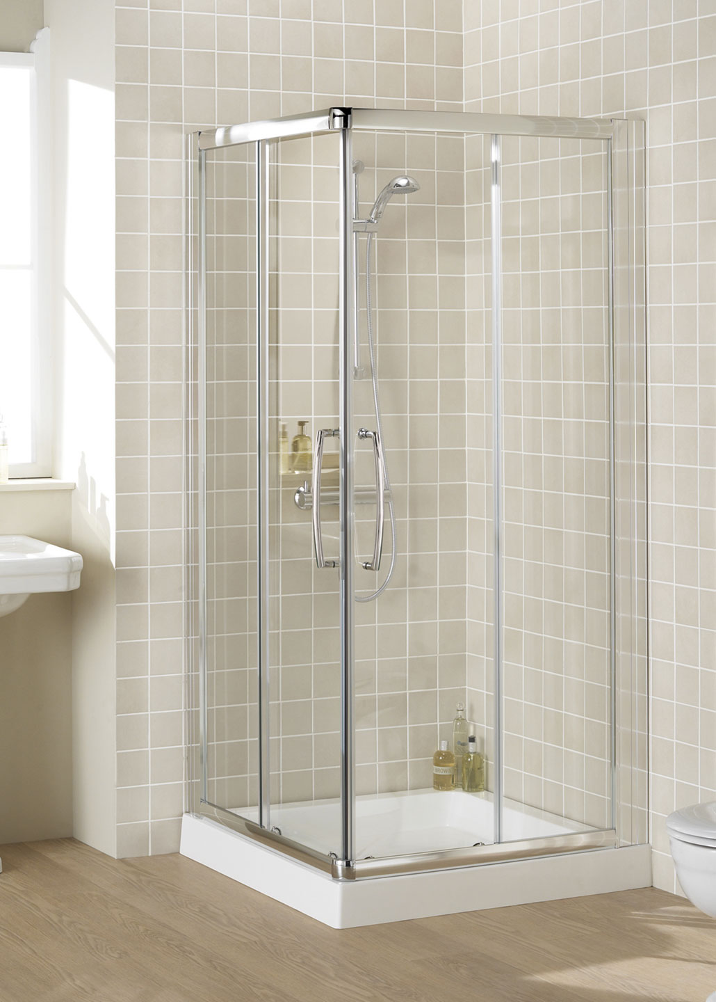 Semi Frameless Corner Entry Shower Enclosures Lakes