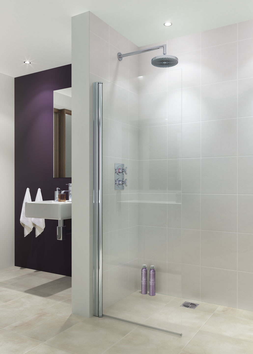 Square Shower Enclosures - Lakes Showering Spaces