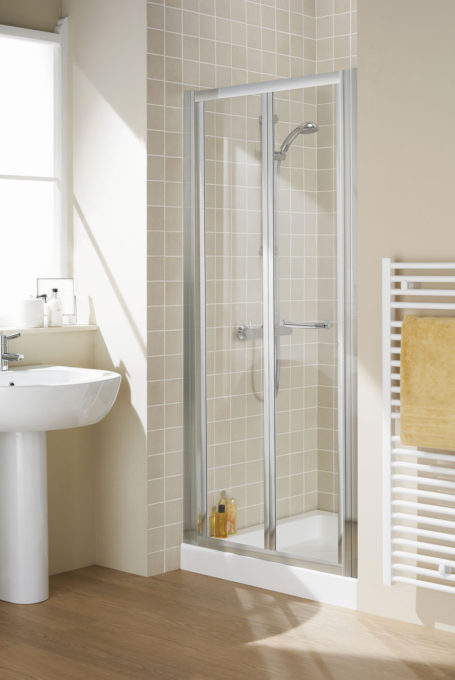 Semi-Frameless Bi-Fold Door shower enclosure