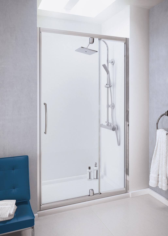 Pivot Shower Door Semi Frameless Shower Enclosures