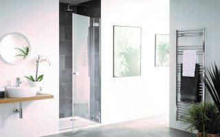 Barbados frameless shower enclosure