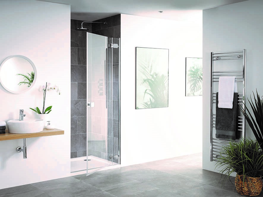 New Barbados Hinged Shower Door New Collection