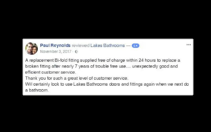 Lakes Bathrooms Customer Service Reviews 1 (2)
