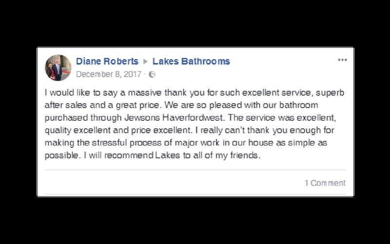 Lakes Bathrooms Customer Service Reviews 12