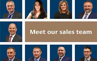 Sales team - website