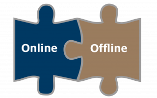 Online & offline need to work together