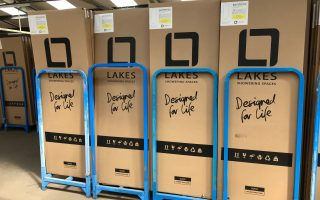 Lakes new recyclable packaging