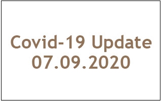 Covid19 Update 07.09.2020 - with outline