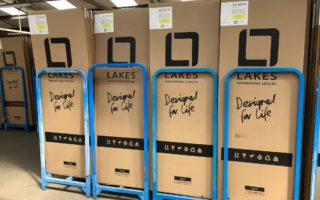 Lakes new 100% recyclable packaging